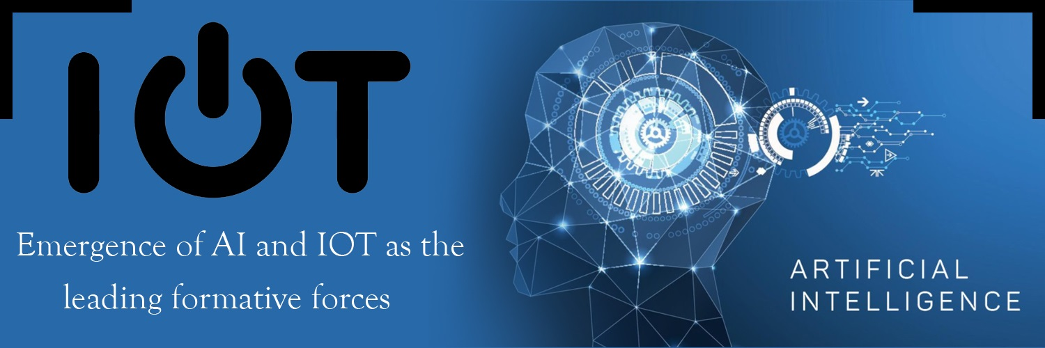 The emergence of Artificial intelligence and IoT as the leading formative forces-ahomtech.com